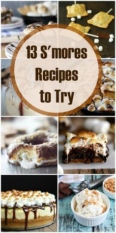 13 Smores recipes to