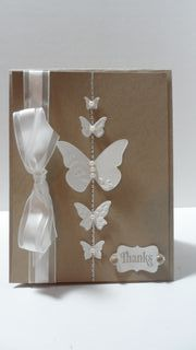Stampin' Up Beautiful Wings Thanks Card