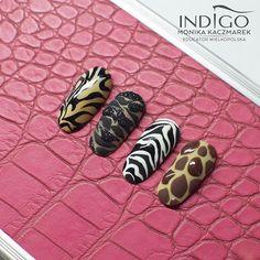 Cute Acrylic Nail Designs, Cute Acrylic Nails, Nail Art Designs, Tiger Nails, Cheetah Nails, Glam Nails, Fancy Nails, Diy Nails, Natural Acrylic Nails