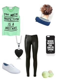 """Untitled #29"" by ghettogirl19 ❤ liked on Polyvore featuring 5 Preview, Yves Saint Laurent, Keds, Jac Vanek, Eos and BERRICLE"