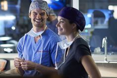 The way he looks at her❤️ Joel and alex saving hope!