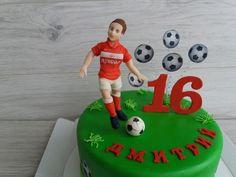Торт для футболиста cake for football player Cakes, Cake Makers, Kuchen, Cake, Pastries, Cookies, Torte, Layer Cakes, Pies