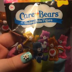 "Care Bear figures from Just Plays Care Bears blind bags! Available at Walmart, Target & Toys""R""Us"