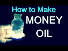 MONEY OIL RECIPE TO ATTRACT MONEY Revealed by a Real Witch - YouTube