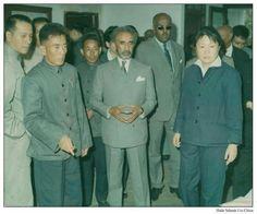 H.I.M. in China Haile Selassie