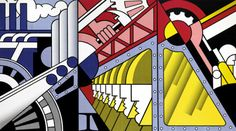 Preparedness by Roy Lichtenstein via Guggenheim Museum Size: 304.8x548.6 cm Medium: Oil and Magna on three joined canvases Solomon R. Guggenheim Museum, New York © Estate of Roy Lichtenstein https://www.guggenheim.org/artwork/2496