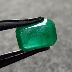 Gorgeous Emerald AGL GEM BRIEF 1.63ct Natural Precious Colombian Green FREE SHIP #JewelsRoughGems