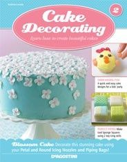 Cake Decorating from De Agostini. From birthday cake designs to cupcake decorations, Cake Decorating gives you perfect results every time! Pretty Cakes, Cute Cakes, Beautiful Cakes, Fondant Cakes, Cupcake Cakes, Cake Decorating Magazine, London Cake, Cake Pictures, Occasion Cakes