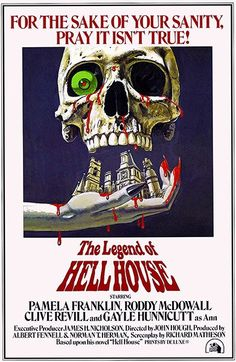 The Legend of Hell House - 1973 - Movie Poster