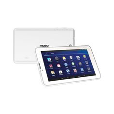 """TABLET MOBO MB-7006 BLANCA (QUAD CORE ANDROID 4.4 /7""""� HD / 3G /DOBLE CAMARA / 8GB)"""