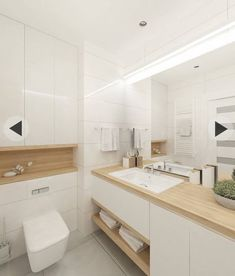 Small bathroom renovations 711357703619856333 - skandinavische Badezimmer von projekt Source by sodasan Minimalist Bathroom Design, Modern White Bathroom, Bathroom Design Small, Bathroom Layout, Bathroom Interior Design, Bathroom Ideas, Bathroom Organization, Bathroom Cabinets, Bathroom Mirrors