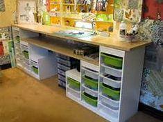 Ikea DIY scrapbook room