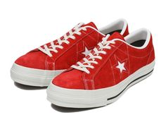 【converse】 コンバース ONE STAR J SUEDE ワンスター J スエード SP14 RED 8(26.5) 通販 | ABC-MART.net