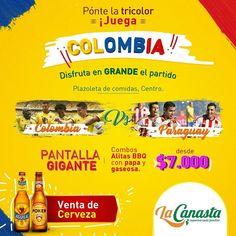 #Hoy  No te puede perder la fiesta del fútbol que viviremos en el #supermercadofamiliar sede centro. Con unión y emoción todos apoyando a nuestra selección pantalla gigante además de promoción en cervezas y comida. Corre y coje puesto!  #futbol #canasta #colombia #seleccion #eliminatorias #russia #russia2018 #union #partido #paraguay #sogamoso #cerveza #beer #promocion