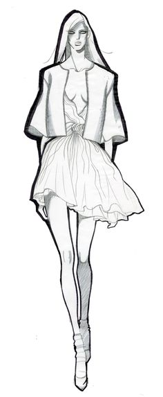 JAA DESIGN original fashion illustration