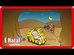 É Natal - Versão Cantada   NATAL - YouTube Kids Nursery Rhymes, Rhymes For Kids, Lottie Dottie, Lisa Simpson, Alice, Youtube, Songs, Fictional Characters, Christmas