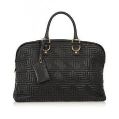 60% off Versace - Leather Tote Bag Quilted Versace - $1,050.00