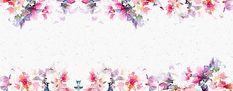 Pintado a mano de flores de fondo acuarela,La Literatura Y El Arte,Fresco,Acuarela Imagen De Fondo