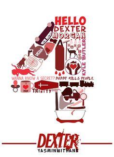 Dexter Season 4 Collage SEASON 1 COLLAGE SEASON 2 COLLAGE SEASON 3 COLLAGE