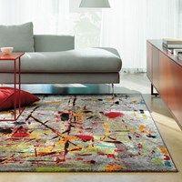 Slam rugs 4457 75 multi coloured buy online from the rug seller uk Carpets Online, Modern Rugs Uk, Modern Room, Learn Interior Design, Interior Decorating, Floor Cloth, Types Of Rooms, Design Moderne, Rugs