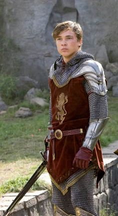 Peter, from Chronicles of Narnia. @Blakelee Noles Young Clack @Kat Ellis Fountain