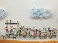 [환경판] 가을 환경판 , 낙엽 나뭇가지로 가을 환경판 꾸미기 : 네이버 블로그 Summer Crafts For Kids, Spring Crafts, Diy For Kids, Preschool Classroom, Preschool Art, Reggio Emilia, Classroom Displays, Classroom Decor, Handmade Picture Frames