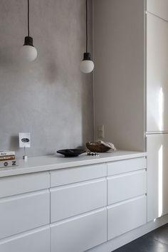 60 Awesome Scandinavian Kitchen Decor and Design Ideas - InsideDecor Minimalist Kitchen, Minimalist Decor, Kitchen Interior, Kitchen Decor, Kitchen Ideas, Country Look, Classic Kitchen, Kitchen Black, Cocinas Kitchen