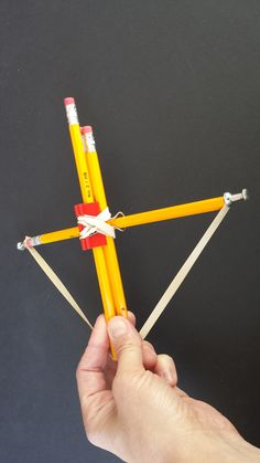 Basic Horton Crossbows When it comes to crossbows, Horton Fury arrows is a name that is familiar to most hunters. Pencil Crossbow, Diy Crossbow, Crossbow Arrows, Make A Boat, Build Your Own Boat, Stem Activities, Activities For Kids, Hobby Kids Games, Stem Skills