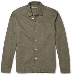 Oliver Spencer Loungewear Cotton-Flannel Overshirt