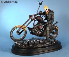 Ghost Rider: Ghost Rider on Motorcycle, Fertig-Modell ... http://spaceart.de/produkte/gsr002.php