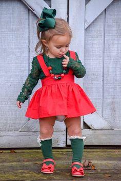 Red Suspender Skirt, Dress, Holiday, Suspenders, Xmas, Toddler, Baby, Girls, Knot, Skirt, Toddler Girl Christmas Outfits, Toddler Girl Outfits, Toddler Dress, Kids Outfits, Holiday Dresses, Holiday Outfits, Holiday Clothes, Girls Fashion Clothes, Kids Fashion