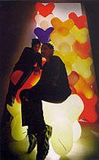 """Tom Dixon's """"sitting, stacking, lighting thing."""" - playful!"""