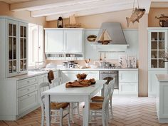 Kitchen design in COUNTRY style- its features and characteristics-31