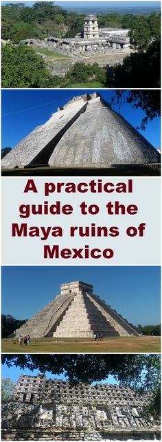 Did you know that there are over 20 Maya ruins in Mexico? Which ones should you visit, how much time should you spend there and how do you get there? Check out this practical guide and you're on your way!
