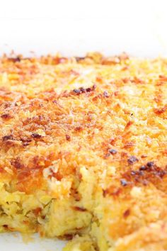 Copycat Boston Market Squash Casserole Recipe
