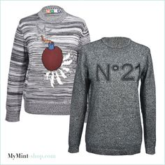 NEW ARRIVALS! #MSGM #No°21 #Sweater #Vintage #Secondhand #Clothes #Designerfashion #MyMint
