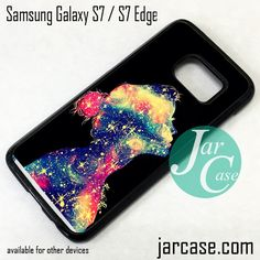 Galaxy Girl Phone Case for Samsung Galaxy S7 & S7 Edge