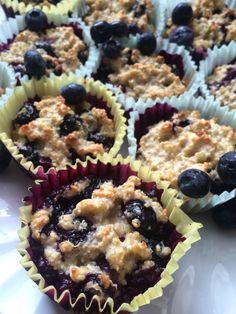 Protein Blueberry Muffins. Recipe: https://healthyfoodfuel.wordpress.com/2015/04/12/protein-blueberry-muffins/
