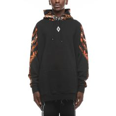 Arshene hoodie from the F/W2017-18 Marcelo Burlon County of Milan collection in black