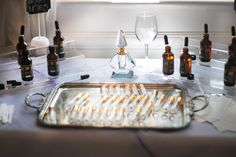 The make-your-own fragrance station. Bridal Shower Idea