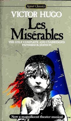 The French historical novel Les Misérables ($25) by Victor Hugo inspired the popular Broadway musical and this year's film adaptation. The book was originally published in 1862, and since then, the story has been transformed into one of the most well-known musicals in history.