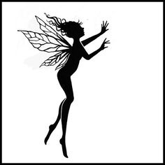 Black and White Fairies Clipart - WOW.com - Image Results ...
