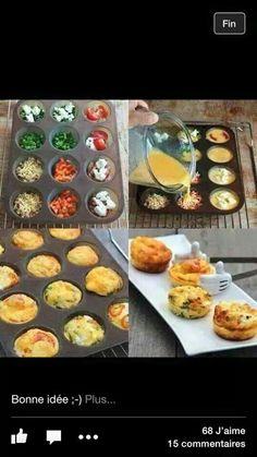Omelette individuelle... ...