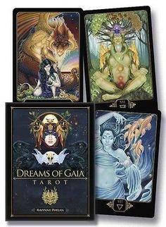 Dreams of Gaia Tarot: A Tarot for a New Era by Ravynne Phelan (English)