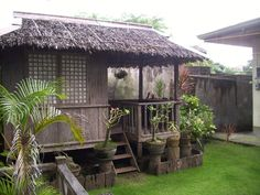 temporary kubo in my farm Bahay Kubo Design Philippines, Bungalow, Filipino Architecture, Tropical Architecture, Filipino House, Hut House, Farm House, Philippine Houses, Bamboo House