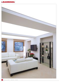 Custom designed translucent stretch ceilings with LED backlighting and vast seamless panel, takes you away from conventional ceiling lights and light diffusers Fabric Ceiling, Kitchen Showroom, Spa Design, Bathroom Layout, Ceiling Design, Interior Lighting, Kitchen Design, Design Inspiration, Ceiling Lights