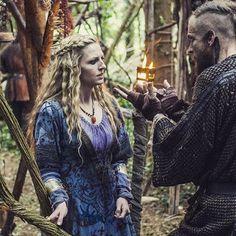 Helga and Floki 'I killed Athelstan' Vikings (Television Show) - Community - Google+