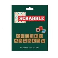 Scrabble Fridge Magnets - Wild and Wolf - Scrabble Fridge Magnets - Wild and Wolf Spruce up your fridge and have some word play fun while waiting for the kettle to boil! Scrabble fridge magnets on a wood effect design.