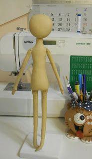 Текстильные куклы и всякая всячина.: выкройка