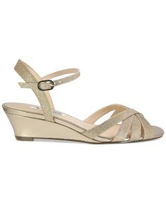 Nina Filia Wedge Evening Sandals - Sandals - Shoes - Macy's